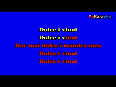 Dulce-i Vinul Ringtone Download Free
