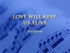 Love Will Keep Us Alive Ringtone Download Free