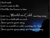 World So Cold Ringtone Download Free